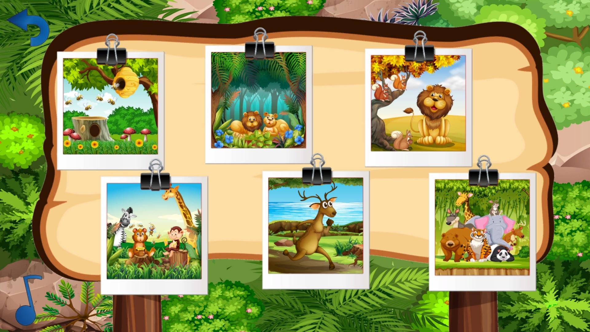 Puzzle Safari - Screenshot