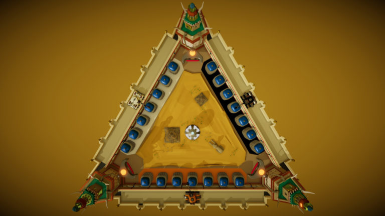 Cannon Arena - Egypt Arena screenshot