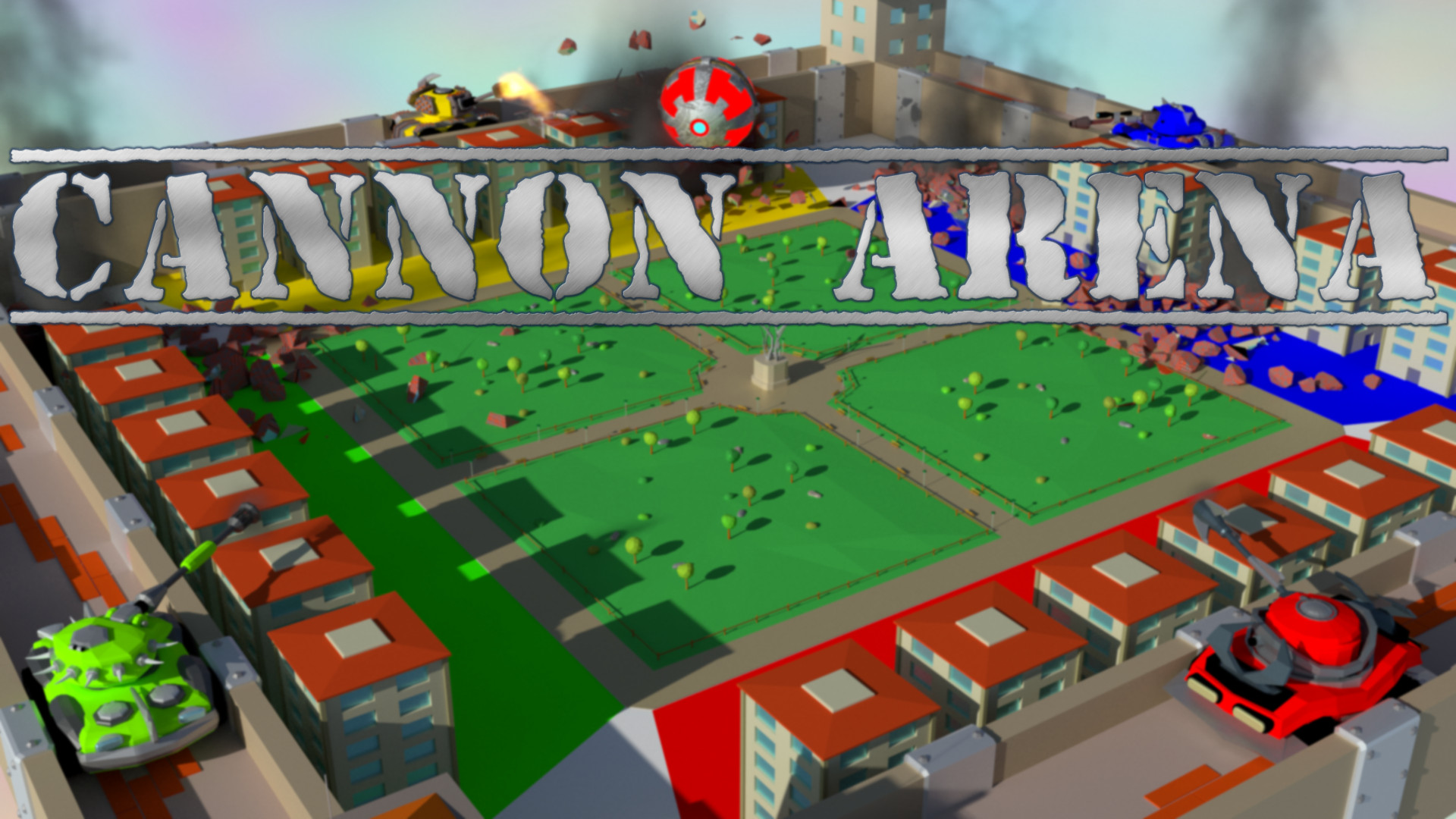 Cannon Arena - Cover Arena screenshot